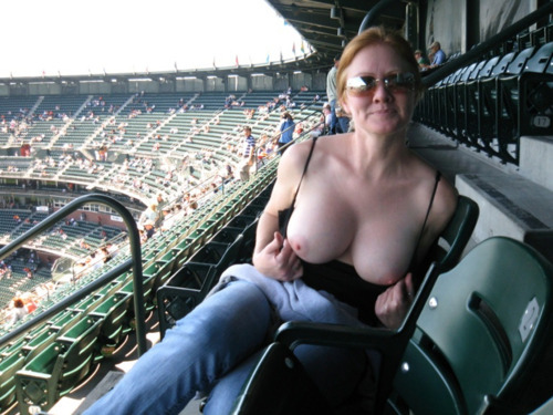 breast accidentally exposed