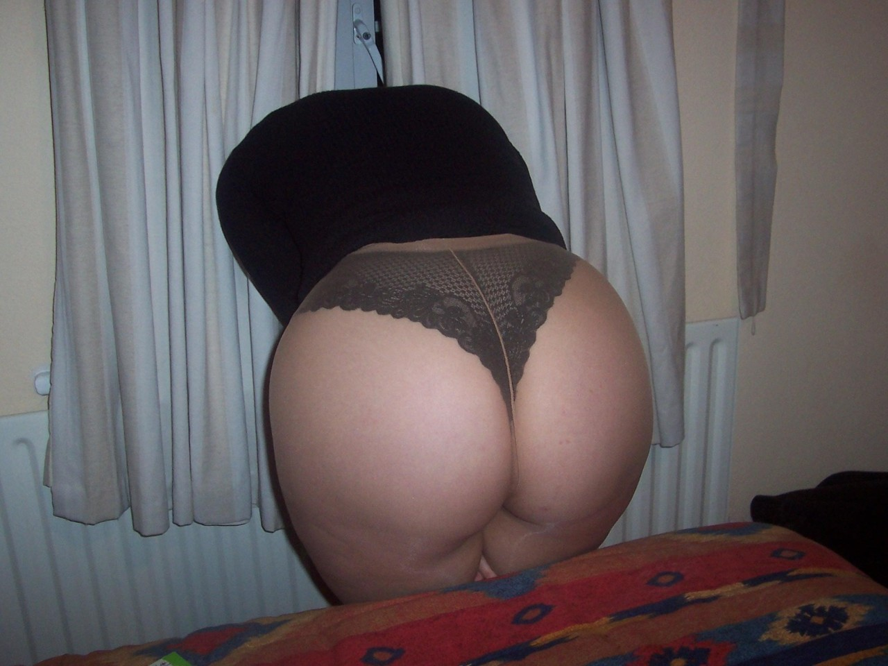 pantyhose big ass corset