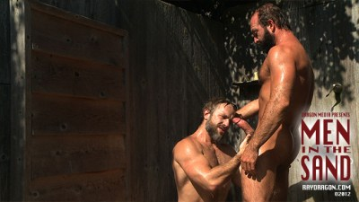 Jake Deckard's Men In The Sand, gay porn
