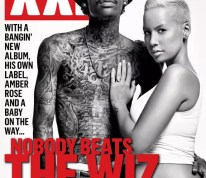 Wiz Khalifa And Amber Rose Grace The November  Cover Of XXL With Amber Showing Her Baby Bump