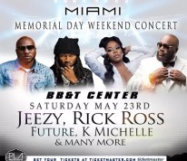 Rick Ross Young Jeezy Future K Michelle Invade Miami