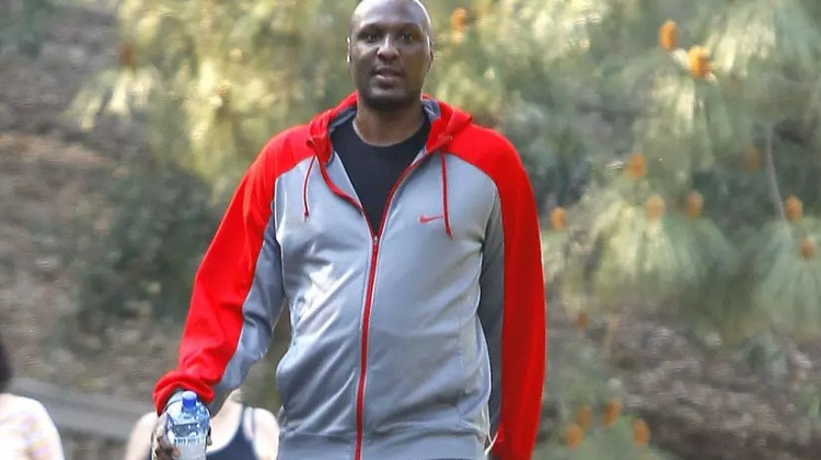 51665138 NBA star Lamar Odom works up a sweat on a hike at Fryman Canyon Park in Studio City, California on February 25, 2015. Rumors are swirling that Lamar is secretly seeing his ex Khloe Kardashian and that Khloe is hiding her forbidden romance from her family. FameFlynet, Inc - Beverly Hills, CA, USA - +1 (818) 307-4813