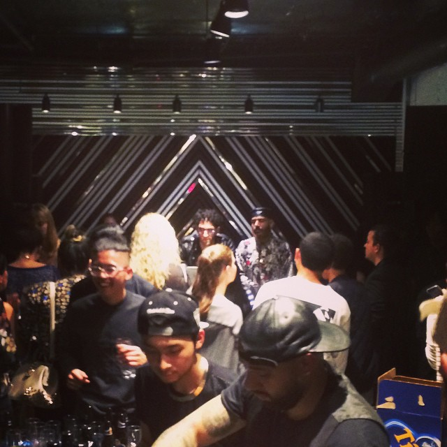 #chromeo at #surfacetoair #djing #collaboration #nyfw #mbfw