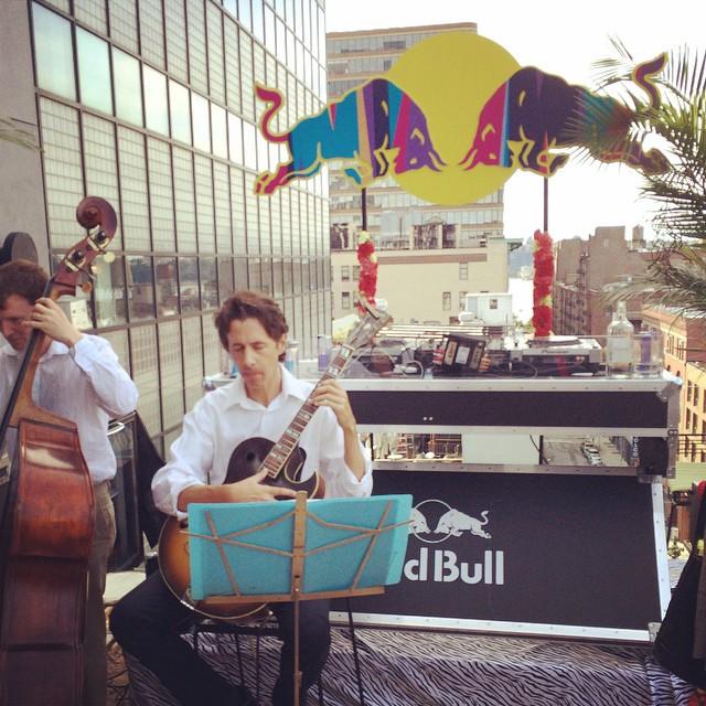 #travisbass #redbull #sttropez #beachbrunchparty at #hotelamericano