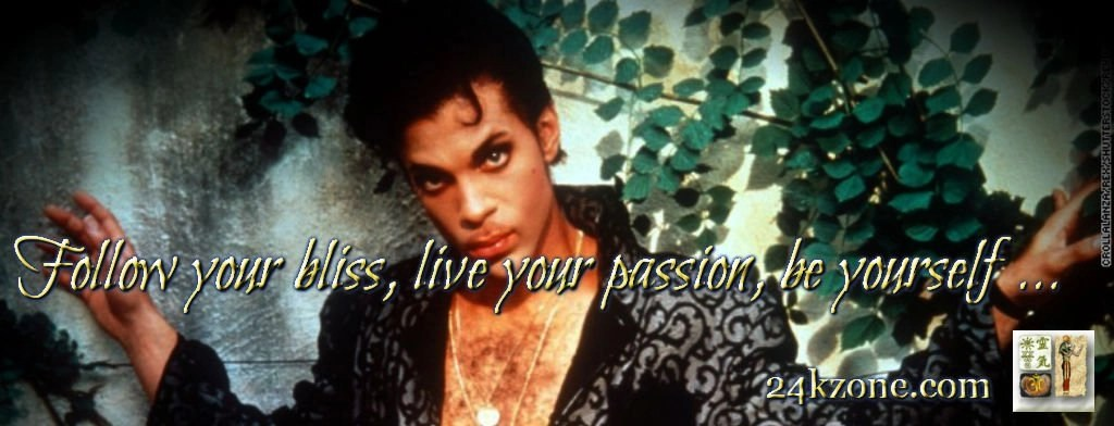 Follow your bliss live your passion be yourself