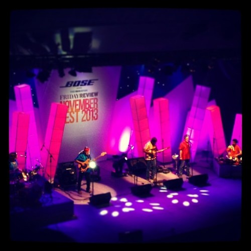Indian Ocean LIVE #chennai #india (at Music Academy)