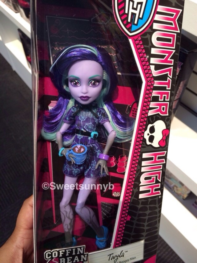 Twyla Coffin Bean Coffee Bean Monster High Toy Fair New York 2014