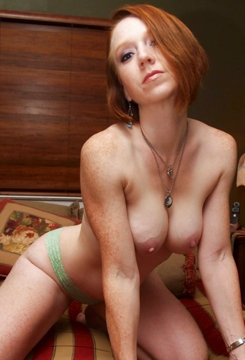mature freckled milf beach