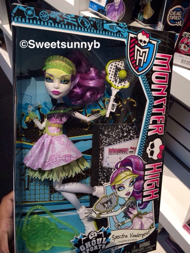 Spectra Vondergeist Ghoul Sports Monster High Toy Fair