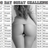 Exercise of The day ! #squatchallenge