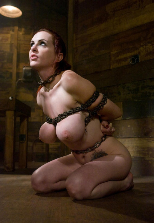 huge tits bondage rinaldi
