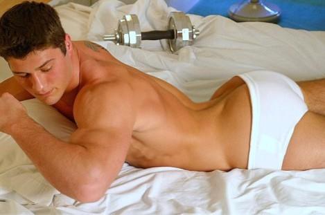 gay muscle men in shower