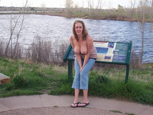 mature exhibitionist
