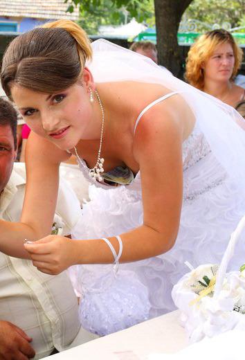 topless wedding