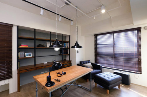 tumblr m612l9Pxht1qkegsbo1 500 Over 50 Cool Office Designs & Workspaces for Inspiration | Part #15