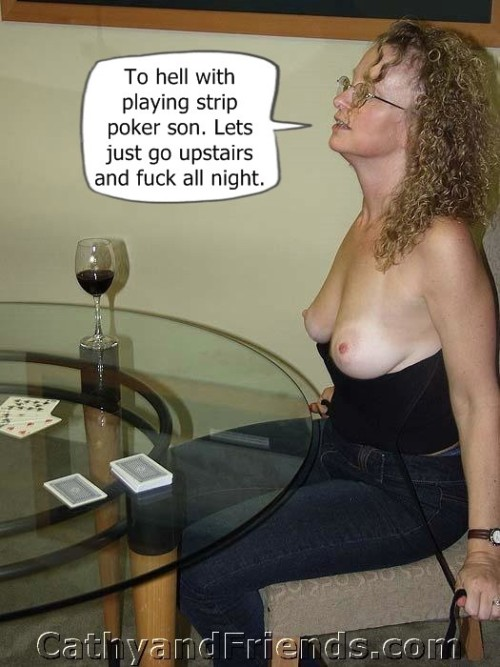 wife strips for group party