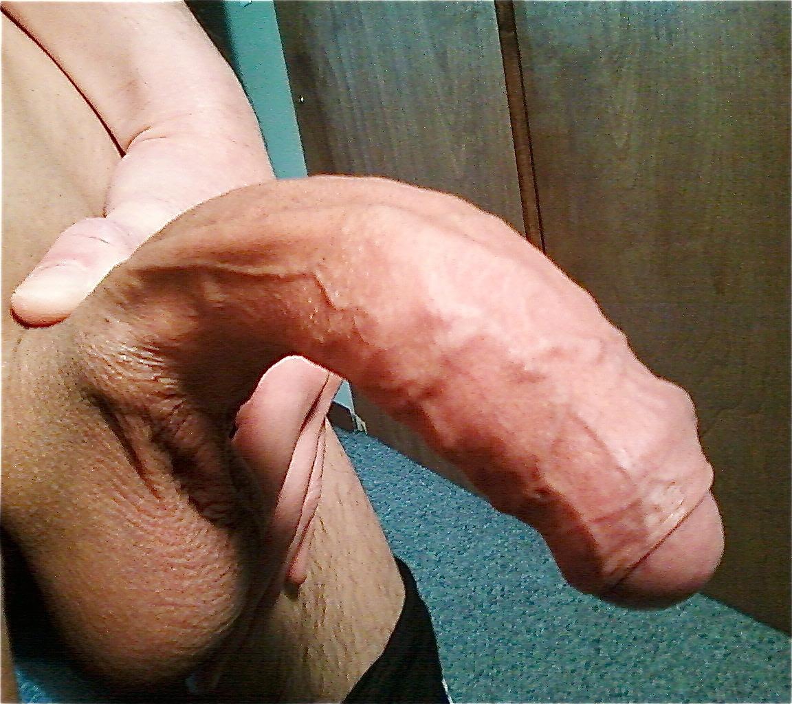 Big uncut cock