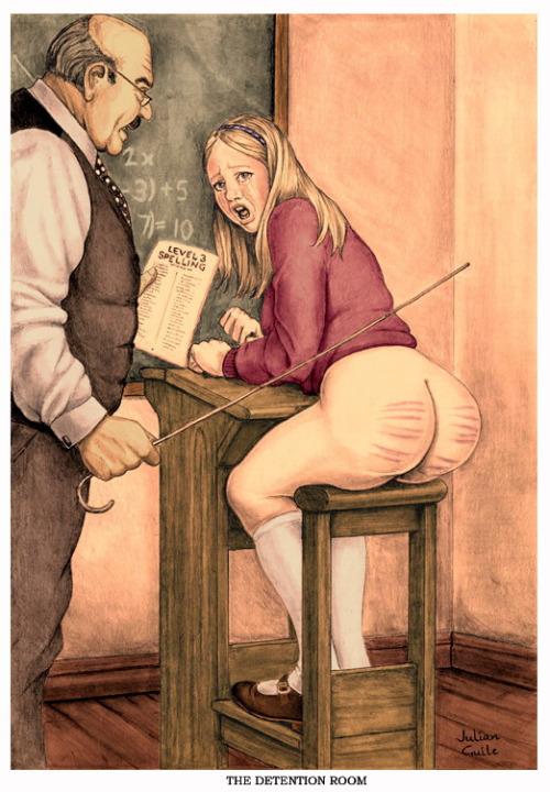 hobbs spanking drawings
