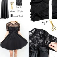 P.S.--I made this Black Dress Refresh