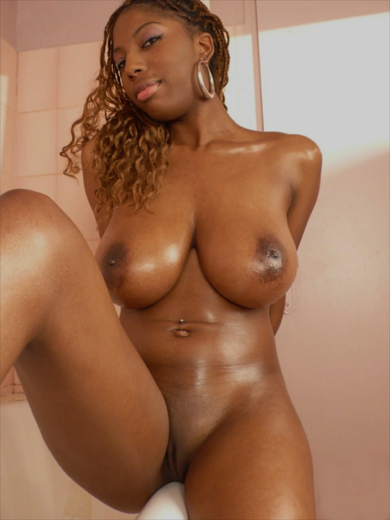 dark black african women nude