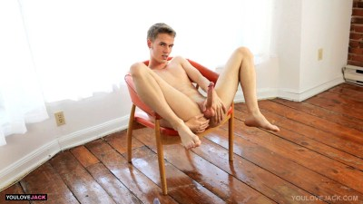 hot blond twink bottom Ethan Rose