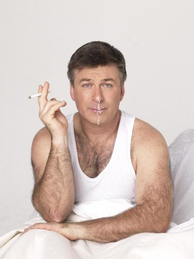 Alec Baldwin, male celebrity gay facials porn