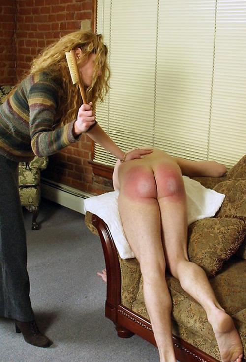 husband spanked to tears