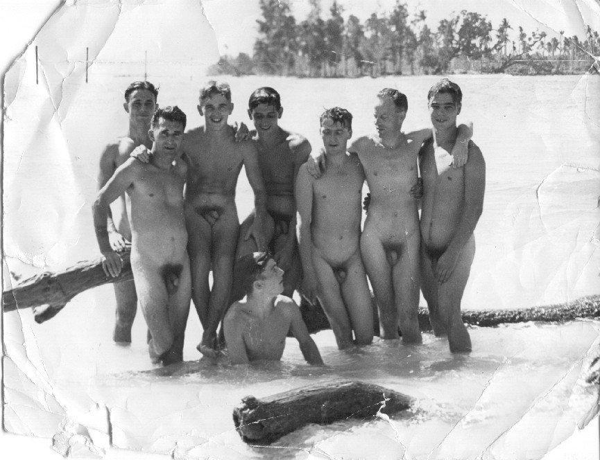 ymca vintage nude men