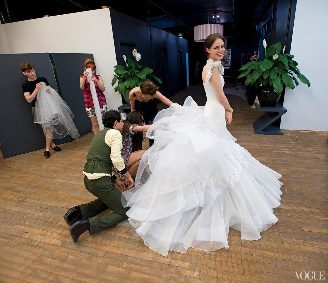 coco rocha wedding dress zac posen zac posen wedding dresses Coco Rocha Wedding Dress Zac Posen 81