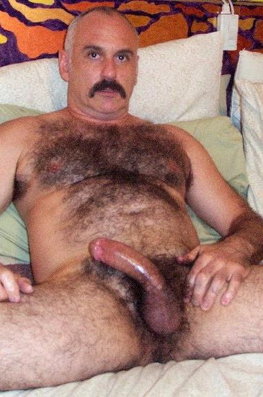 very hairy men
