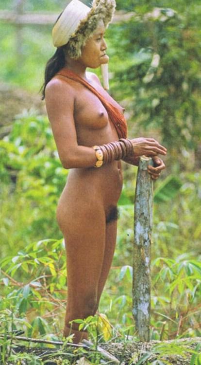 female tribal nudity xingu