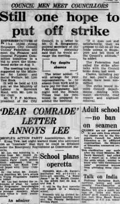 Straits Times 1955