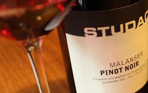 2009 Studach Pinot Noir Malans
