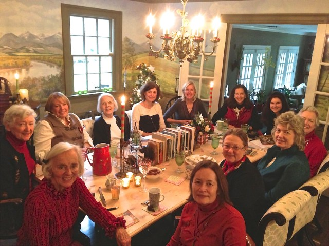 Book Group Lunch 2012 2