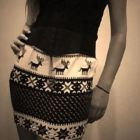 How to Make an Ugly Sweater Into a Simple Pencil Skirt
