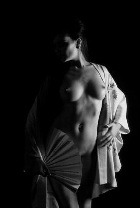 Sexo para parejas - la apariencia erótica de una geisha