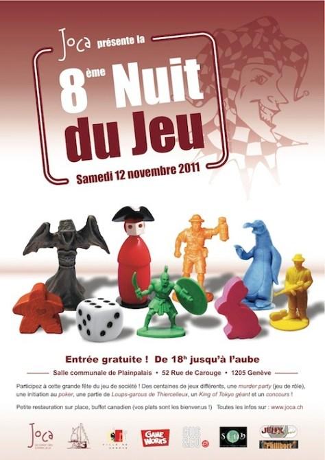 8ème Nuit du Jeu à Geneve