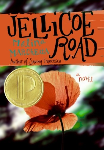 2011 Favorites #7: Jellicoe Road by Melina MarchettaAbandoned by her mother on Jellicoe Road when she was eleven, Taylor Markham, now seventeen, is finally being confronted with her past. But as the reluctant leader of her boarding school dorm, there isnt a lot of time for introspection. And while Hannah, the closest adult Taylor has to family, has disappeared, Jonah Griggs is back in town, moody stares and all.In this absorbing story by Melina Marchetta, nothing is as it seems and every clue leads to more questions as Taylor tries to work out the connection between her mother dumping her, Hannah finding her then and her sudden departure now, a mysterious stranger who once whispered something in her ear, a boy in her dreams, five kids who lived on Jellicoe Road eighteen years ago, and the maddening and magnetic Jonah Griggs, who knows her better than she thinks he does. If Taylor can put together the pieces of her past, she might just be able to change her future.From my review&Jellicoe Road starts out as the story of a seventeen year-old girl, abandoned by her mother when she was eleven, who lives in a boarding school in the bush in Australia. Taylor is made leader of all the schools houses, and her chief job is to lead the war against the Townies and the Cadets.The war becomes complicated by friendship, love, and a search for Taylors lost mother. What starts out as simple childs play and the mood-swings of a lost girl becomes the story of a group of friends, finding their place in the world, and in their history.