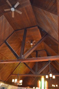 High Vaulted Wooden Ceiling