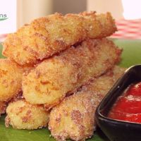 Gluten Free Vegan Mozzarella Sticks