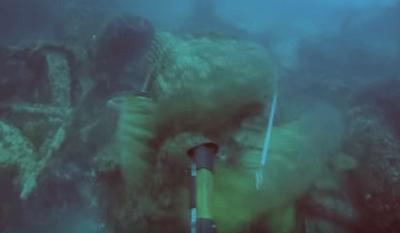 水中で巨大魚に引き回されるダイバーの映像が話題(動画有)…体重100kgのダイバーを軽々と引きずるゴライアス 米フロリダ