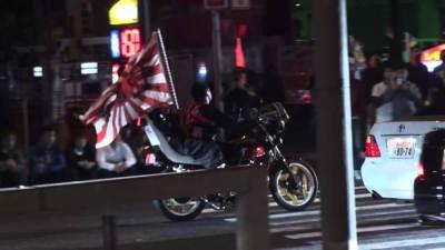 暴走族集団「イレブンスリー」にボコられる日本の警官(動画有)…少年ら14人検挙 大阪