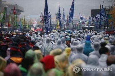 韓国から表現の自由、思想・学問の自由、集会の自由が消滅! 第2次民衆総決起大会は不法!参加者は全員検挙!!