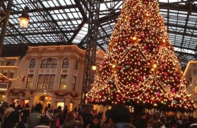 クリスマスの舞浜駅(TDL最寄駅)の様子をご覧くださいwwwww(動画)