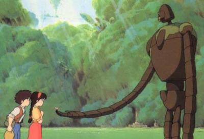 【画像】ラピュタは本当にあったんだ!雲の上を歩く巨人兵が撮影される