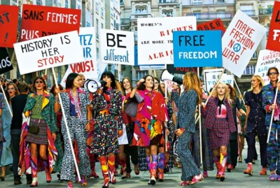 海外のま~ん(笑)を皮肉った諷刺画像 …女性の権利ばかりを主張するフェミニズム