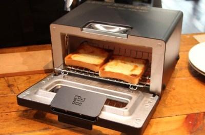 世界一のトーストが焼ける究極トースターとやらが人気らしい<動画像>BALMUDA(バルミューダ)製「The Toaster(ザ・トースター)」