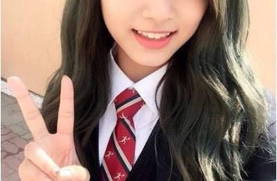 今一番カワイイ17歳台湾人アイドル<twiceツウィちゃん>ほか制服姿の台湾女子高生たち