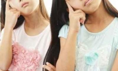 【画像】この4人の女性 小学生はどの娘でしょう?