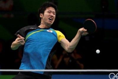 卓球・水谷隼の筋肉<画像>卓球選手の肉体が凄い